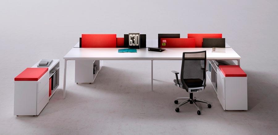 Muebles oficina malaga conjunto de estanteras modernas for Muebles de oficina malaga